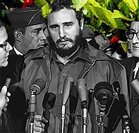 Photo of Fidel Castro (Courtesy Library of Congress)